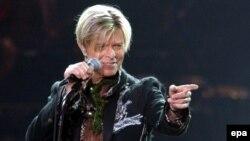 David Bowie, 2003.