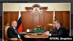 Встреча Путина с Худилайненом