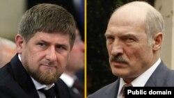 Рамзан Кадыров и Александр Лукашенко