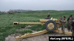 Ushtarët e Afganistanit në një pozicion në provincën Kunduz