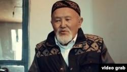 «Стамбулдан шыққан қазақ» деректі фильмінен көрініс. Суретте кейіпкерлердің бірі - Мүфтихан ақсақал.