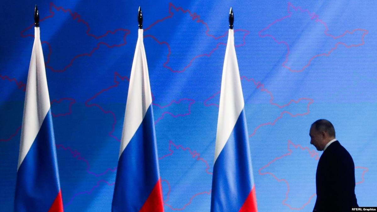 «Свою роль в российской политике Крым уже сыграл»: Крым в посланиях Владимира Путина