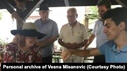 Dvoboj - Vesna Mišanovic i FIDE-majstor Rijad Burović, Sarajevo, august 2019.