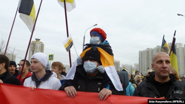 The Russian March on Unity Day in Moscow