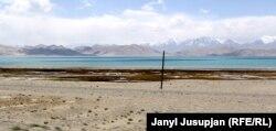 Кара-Көлдун көрүнүшү, Мургаб району, Тажикстан.