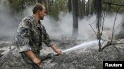 Гасіння пожежі, ілюстративне фото