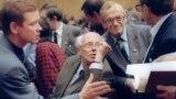 Андрей Сахаров на Съезде народных депутатов СССР. 1989 год