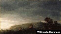 Ларс Гертэрвіг, «Лес» (1853)