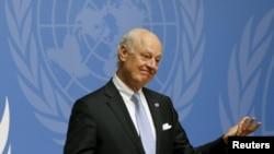 Staffan de Mistura, i dërguari special i Kombeve të Bashkuara për Sirinë