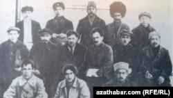 Türkmenistanyň 1-nji Kongresiniň delegatlary, 1925.