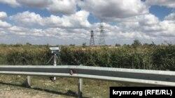 Камера наблюдения на крымской дороге