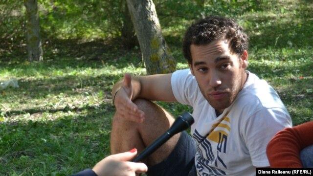 Andre Sliva din Portugalia, voluntar la Mereni