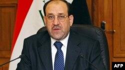 نوری المالکی، نخست وزير عراق. (عکس: AFP)