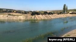 Тайганское водохранилище, сентябрь 2020 года