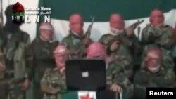 Сирийские военнослужащие-мятежники