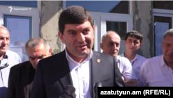 Armenia - Davit Hambardzumian, the mayor of Masis.