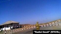 Постгоҳи марзӣ дар ноҳияи Шӯрообод