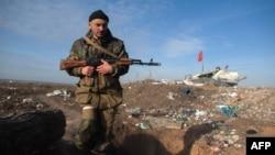 Проросійський сепаратист, ілюстративне фото