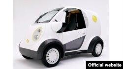 Honda Kabuku 3D Printed Electric car