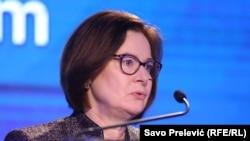 Ambasadorja e Shteteve të Bashkuara në Podgoricë, Judy Rising Reinke.