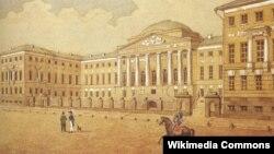 Московский императорский университет. 1820-е