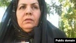 زلیخا موسوی مادر حسین رونقی. عکس از کلمه