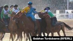 Казакстан - Өзбекстан оюну. Көчмөндөр оюндары, 2018-жыл.