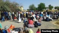 Refugiați la frontiera turco-bulgară