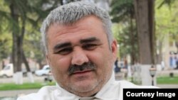 Azerbaijani journalist Afgan Mukhtarli (file photo)