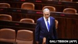 نتانیاهو در افتتاحیه دوره زمستانی مجلس اسرائیل