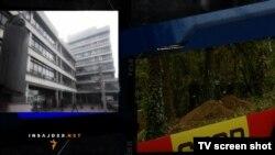 Palata pravde u Beogradu i mesto pogibije gardista