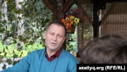 Журналист Сергей Дуванов. Алматы, 13 қазан 2016 жыл.