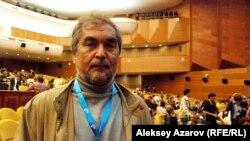 Таджикский кинорежиссер Фарход Абдуллаев. Алматы, 21 сентября 2012 года.