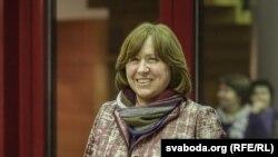Писатель Светлана Алексиевич, нобелевский лауреат по литературе.