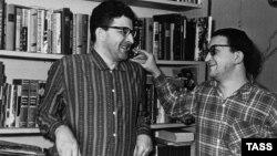 Аркадий и Борис Стругацкие. Фото 1965 года.