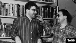 Аркадий и Борис Стругацкие. 1965 год