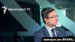 """Armenia - Gevorg Gorgisian, MP from the opposition """"Yelk"""" bloc, 2Feb, 2018"""