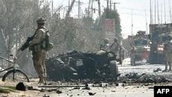 تلفات نيروهای نظامی خارجی در افغانستان در ماه گذشته ميلادی بيشتر از تلفات نيروهای تحت امر خارجی در عراق بود.. (عکس از AFP )