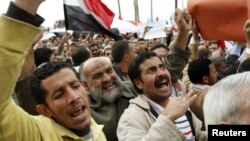 The case concerned the the killing of antigovernment protesters outside police stations in the Mediterranean city of Alexandria in 2011. (file photo)