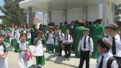 Aziýa oýunlary döwründe Aşgabadyň mekdep okuwçylary we studentler rugsada çykýarlar