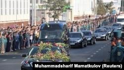 Ислам Каримовду акыркы сапарга узатуу, 3-сентябрь, 2016-жыл.