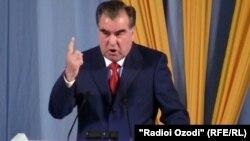 Тәжікстан президенті Эмомали Рахмон. Душанбе, 26 маусым 2012 ж.