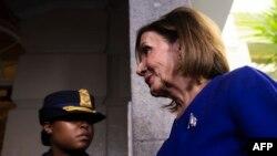 Претседавачот на Претставничкиот дом на американскиот Конгрес Ненси Пелоси