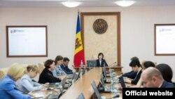 La ședința guvernamentală de astăzi la Chișinău