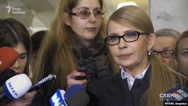 Сама Тимошенко тоді наполягала, що видатки її партії абсолютно публічні
