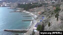 Обустройство пляжей Артека
