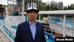 Абдулхалим Ватан на Иссык-Куле.