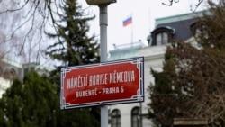 Prague Renames Square Near Russian Embassy After Slain Opposition Leader Nemtsov