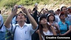 Қытай туристері. 14 қыркүйек 2007 жыл. (Көрнекі сурет)