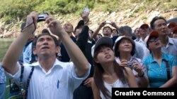 Туристы из Китая. Иллюстративное фото. 14 сентября 2007 года.